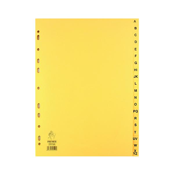 Buff A4 20-Part A-Z Index WX26011