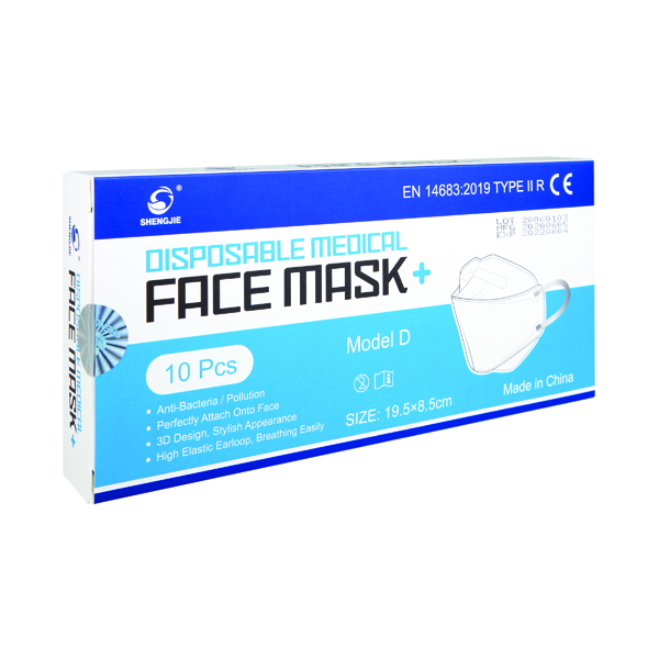 Disposable Ultra Type IIR Facemask (10 Pack) WX67011