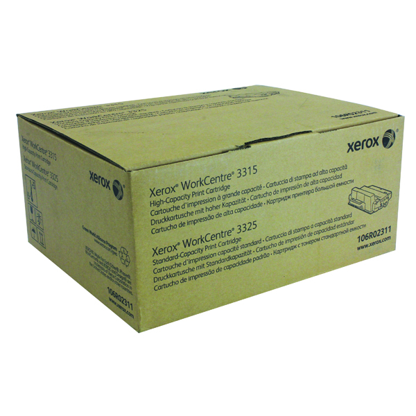 Xerox Workcentre 3315/3325 Toner Cartridge Black 106R02311