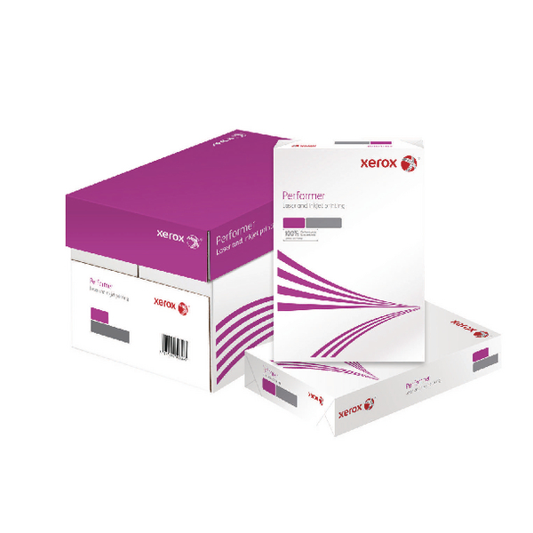 Xerox Performer White A4 80gsm Paper (2500 Pack) XX49049
