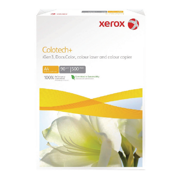 Xerox Colotech+ White A4 120gsm Gloss-Coated Paper (500 Pack) 003R90336