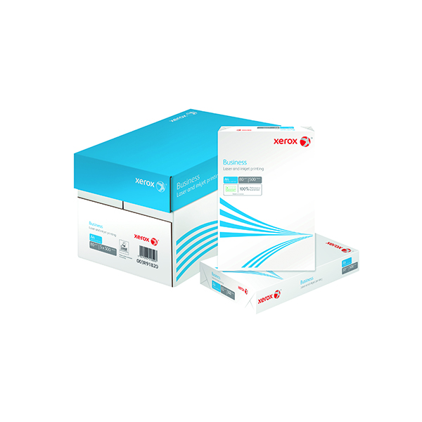 Xerox Business A4 White 80gsm Paper (2500 Pack) XX91820