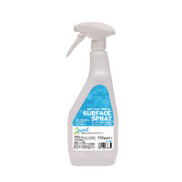 2Work Anti-bacterial Sanitiser Spray 750ml (Pack of 6) 2W04586