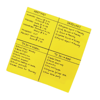 Post-it Super Sticky Yellow Big Notes 279 x 279mm Pack of 30 BN11-EU