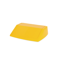 Addis 60 Litre Fliptop Bin Lid Yellow 512861