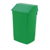 Addis 60 Litre Fliptop Bin Green AG813422