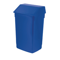 Addis 60 Litre Fliptop Bin Blue AG813424