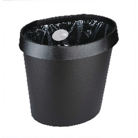 Avery DTR Eco Waste Bin 18 Litre Black DR500