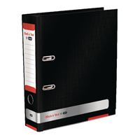 Black n Red A4 Lever Arch File 70mm 400051488