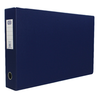 Elba A3 70mm Blue Plastic Lever Arch File Pack of 2 400008441