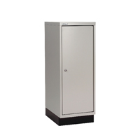 Bisley 1 Door Cupboard W349xD432xH940mm Goose Grey BY05288