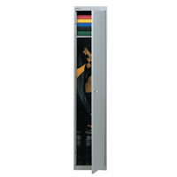 Bisley Goose Grey 1 Door Locker W305xD305xH1802mm BY08945