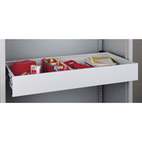 Bisley Rollout Drawer 4in Light Grey