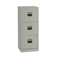 Bisley A4 Personal Filing Cabinet 3 Drawer Grey BY60794