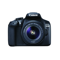 Canon EOS 1300D 18 Megapixel Digital Camera Black 1160C029