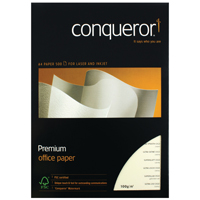Conqueror Watermark ed A4 Paper 100gsm Cream (Pack of 500) CQX0324CRNW