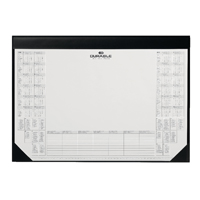 Durable Calendar Desk Mat Black 7291/01