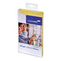Legamaster Magic Chart Yellow Notes 100x200mm With Board Marker 7-159405