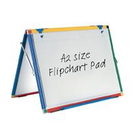 Show-me A2 Flipchart Pad Plain (Pack of 5) FPPA2/5