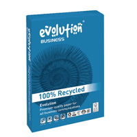 Evolution Business A4 Paper 100gsm White Ream EVBU21100 (Pack of 500)