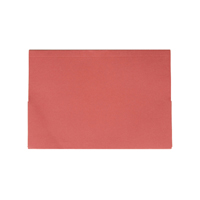 Guildhall Red Double Pocket Legal Wallet Foolscap (Pack of 25) 214-RED
