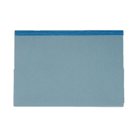 Guildhall Blue Reinforced Double Legal Pocket Wallet Pack of 25 218-BLU