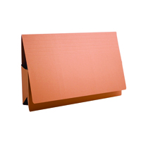 Guildhall Orange Probate Document Wallet Pack of 25 PRW2-ORG