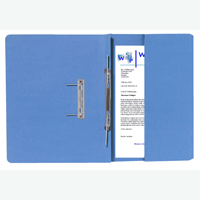 Guildhall Blue Foolscap Right Hand Pocket Spiral File Pack of 25 211/9060Z
