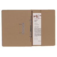 Guildhall Buff Foolscap Right Hand Pocket Spiral File Pack of 25 211/9061Z