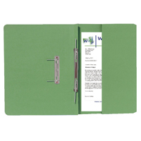 Guildhall Green Foolscap Right Hand Pocket Spiral File Pack of 25 211/9062Z
