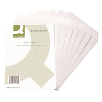 Q-Connect C4 Envelopes 90gsm White Self Seal (Pack of 250) KF02721