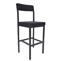 Jemini High Stool Charcoal KF03311
