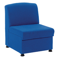 Arista Modular Reception Blue Chair KF03489