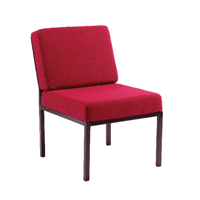 Jemini Reception Chair Claret KF03591