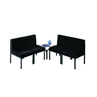 Jemini Reception Charcoal Chair KF04010