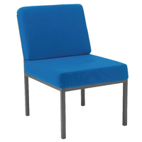 Jemini Reception Blue Chair KF04011