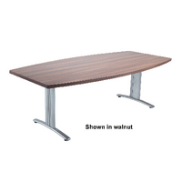 Arista Conference Table Boat Beech W2200xD1100xH735mm KF74014