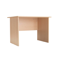 Jemini Intro Panel End Desk 1000mm Warm Maple KF74127