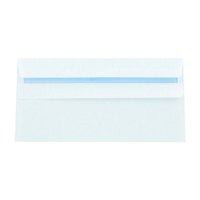 Q-Connect DL Envelopes Self Seal 120gsm White (Pack of 1000) 81414
