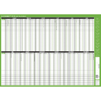 Q-Connect Day Planner Mounted 855x610mm 2018 KFDPM18