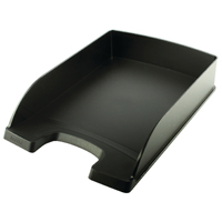Leitz Plus Standard Letter Tray Black 52270095