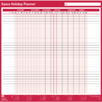 Sasco Fiscal Holiday Planner 2018 - 2019 2401875