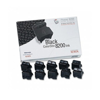 Xerox Phaser 8200 Black Colorstix (Pack of 10) 016204400
