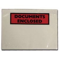 Documents Enclosed Self-Adhesive A6 Document Envelopes 4302002 (Pack of 1000)