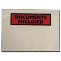Documents Enclosed Self-Adhesive A7 Document Envelopes 4302001 (Pack of 1000)