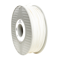 Verbatim ABS 2.85mm 1kg Reel White 3D Printing Filament 55017
