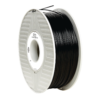 Verbatim PLA 3D Printing Filament 1.75mm 1kg Reel Black 55267