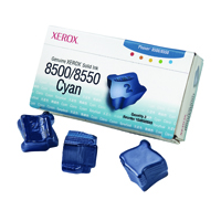 Xerox Phaser 8500/8550 Cyan Solid Ink Stick (Pack of 3) 108R00669