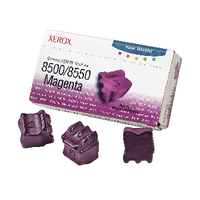 Xerox Phaser 8500/8550 Magenta Solid Ink Stick (Pack of 3) 108R00670