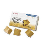 Xerox Phaser 8500/8550 Yellow Solid Ink Stick (Pack of 3) 108R00671